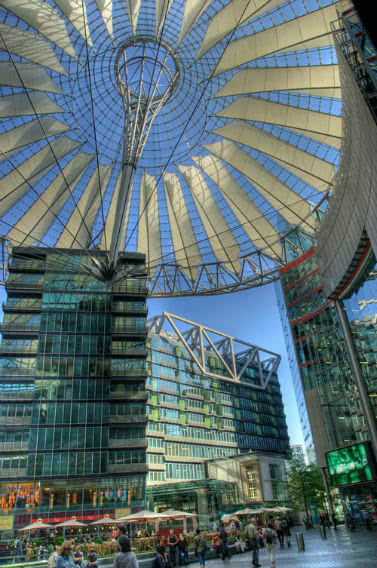 Berlin - Potsdamer Platz, Sony Center