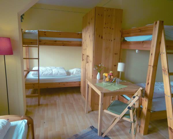 Abschlussfahrt Hostel Louise 20- Zimmer