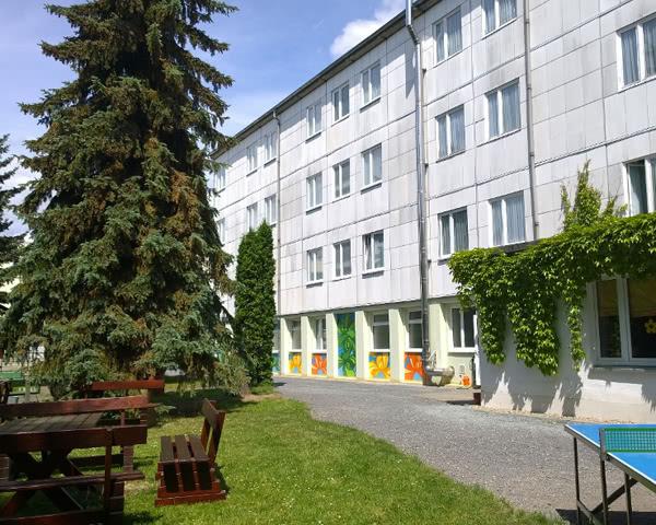 Kursfahrt Jugendherberge Pirna- Außenansicht