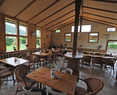 Klassenfahrt Ferienanlage Edersee- Speisesaal