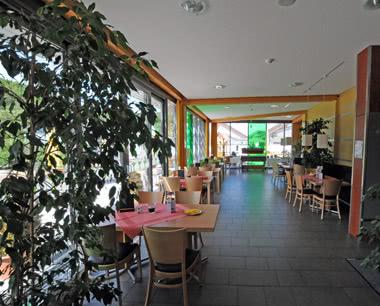 Klassenfahrt Eifel- Ferienerlebnispark Hambachtal Speisesaal