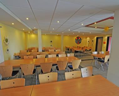 Eifel- Jugendhotel Bitburg Speisesaal