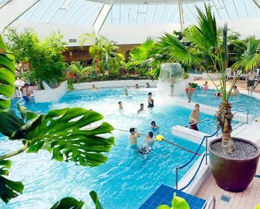 Schulfahrt Centerparc Eifel- Schwimmbad