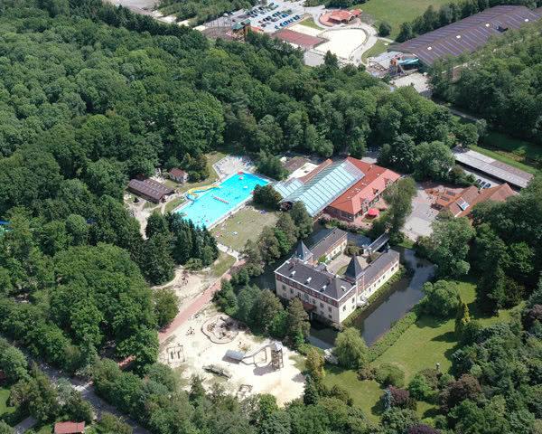 Schulreise Ferienzentrum Schloss Dankern- Luftaufnahme