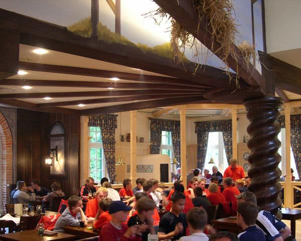 Kursfahrt Schloss Dankern- Restaurant Deele