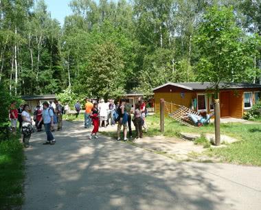Schulreise Feriendorf Hoher Hain: Unterkunftsbeispiel