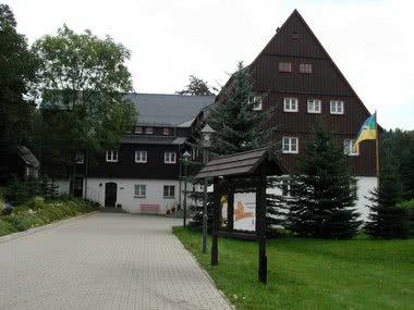 Jugendherberge Frauenstein: außen