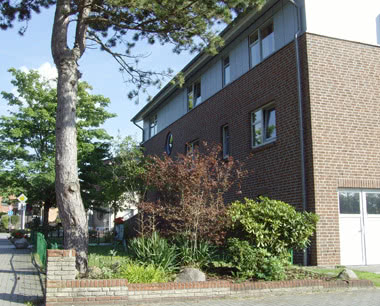 Klassenfahrt JBS Haus zur Sahlenburg- Außenansicht