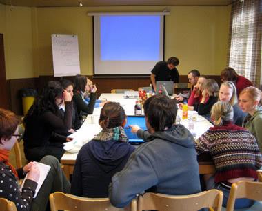 Schulreise JBS Haus zur Sahlenburg: Seminarraum