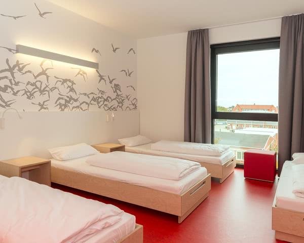 Studienfahrt Havenhostel Cuxhaven- Mehrbettzimmer