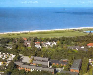 Klassenfahrt Jugendherberge Cuxhaven - Vogelperspektive