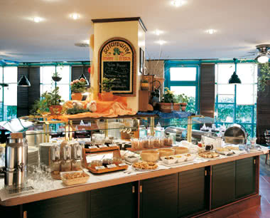 Abireise Steigenberger Hotel Frankfurt-Langen: Buffet