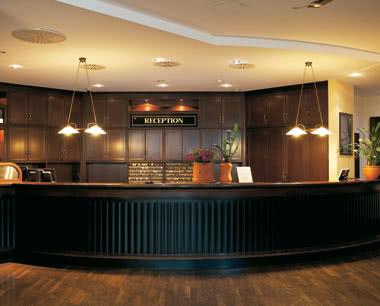 Klassenreise Steigenberger Hotel Frankfurt-Langen: Rezeption