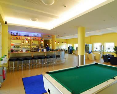 Schulfahrt A & O City Hostel Nürnberg- Lobby