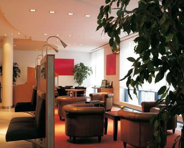 Schulfahrt InterCityHotel Nürnberg- Lobby
