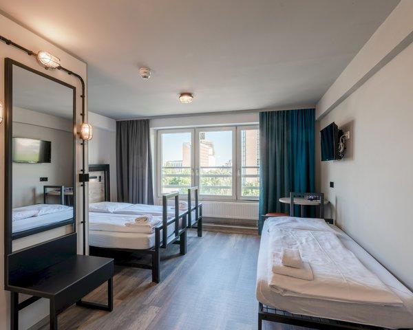 Kursfahrt A&O Hostel City- Mehrbettzimmer