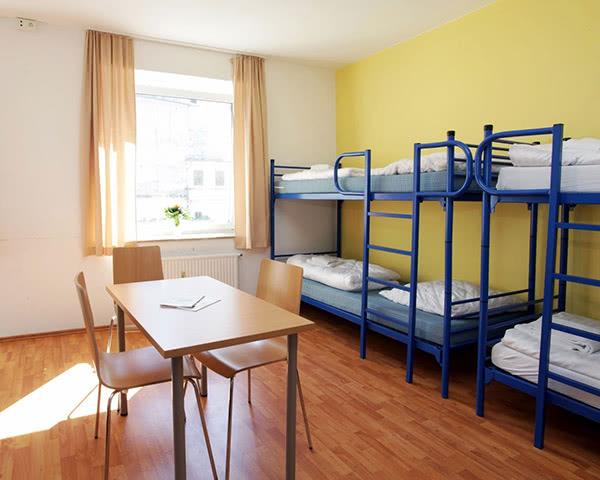 Gruppenreise A&O Hostel Reeperbahn: Zimmerbeispiel