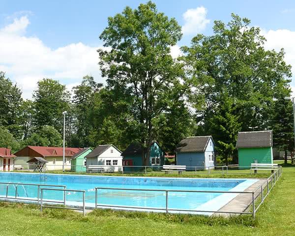 Klassenfahrten Forsthaus Auerberg- Pool