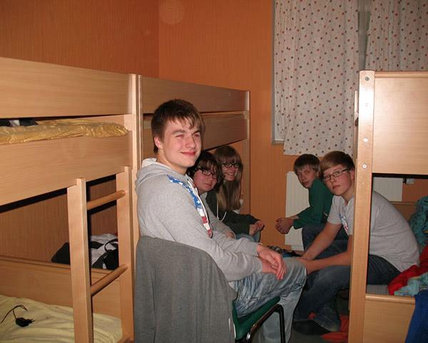 Klassenfahrt Forsthaus Auerberg- Zimmerbeispiel