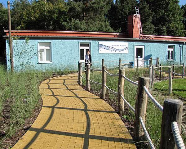 Gruppenfahrten KIEZ Hölzerner See- Haus des Wassers