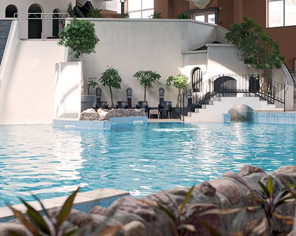 Studienfahrt Van der Valk Resort Linstow- Schwimmbad