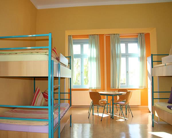 """Schülerreise AWO """"Haus Kühlungsborn"""": Zimmerbeispiel"""