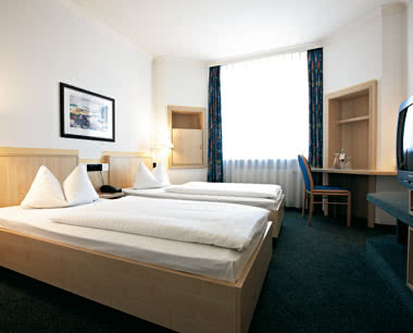 Schulreisen InterCityHotel Rostock: Zimmerbeispiel Twinzimmer