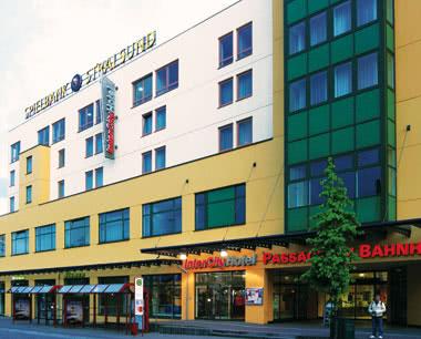 Abifahrt InterCityHotel Stralsund- Außenansicht