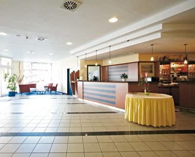 Abireise InterCityHotel Stralsund: Lobby