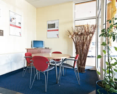 Kursfahrten InterCityHotel Stralsund: Business Corner