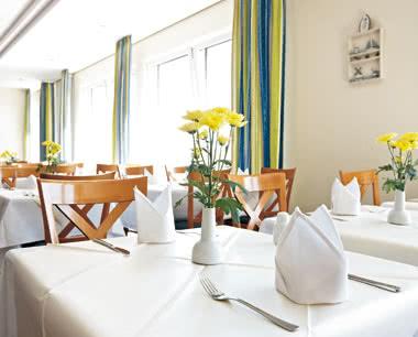 Studienfahrt InterCityHotel Stralsund: Restaurant
