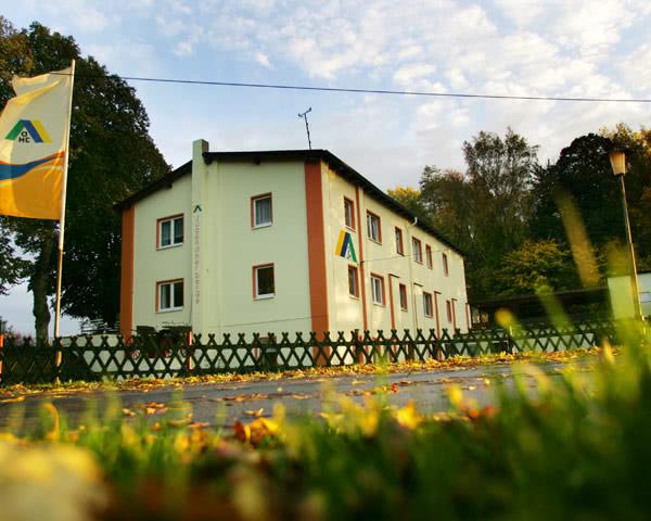 Klassenreise Jugendherberge Barth: Außenansicht