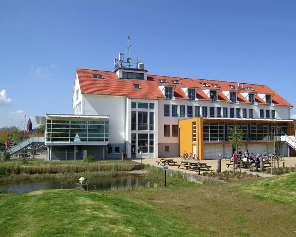 Kursfahrt Maritimes Jugenddorf Wieck: Außenansicht
