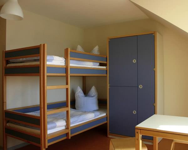 Studienreise Maritimes Jugenddorf Wieck- Zimmerbeispiel