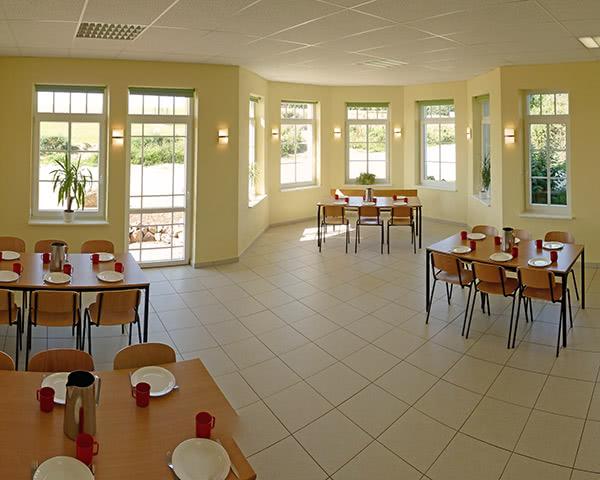 Studienfahrt Schullandheim Honigparadies- Speisesaal