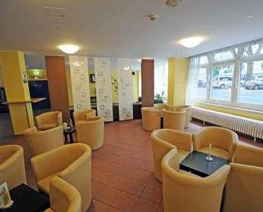 Schulfahrt A & O City Hostel- Café