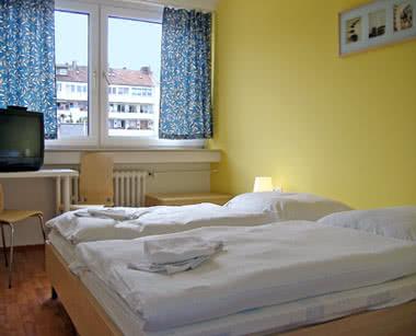 Kursfahrt A & O City Hostel Düsseldorf- Zimmerbeispiel
