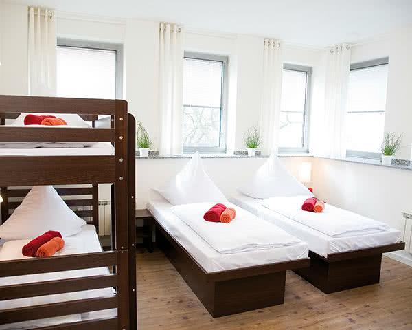 Klassenreise Hostel Köln: Zimmerbeispiel