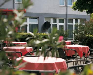 Schulfahrten InterCityHotel Gelsenkirchen: Gartenterrasse