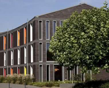 Unterkunft Düsseldorf: Außenansicht