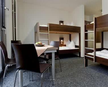 Klassenfahrten Düsseldorf - Zimmerbeispiel