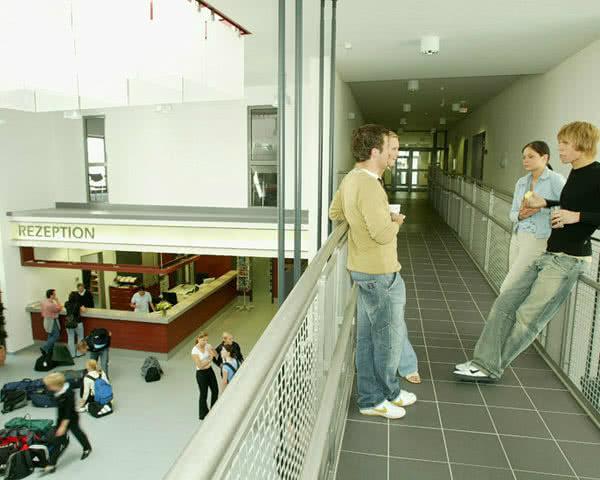 Schulfahrt Jugendherberge Köln-Deutz- Foyer