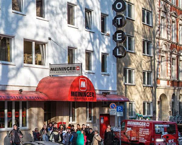 Abifahrt Meininger Hotel City Center- Außenansicht