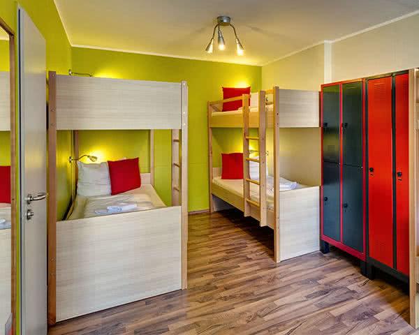 Jugendfahrt Meininger Hotel City Center- Zimmer