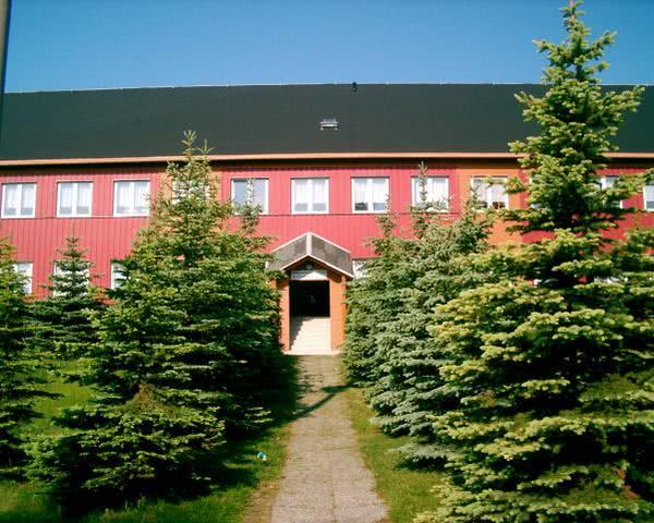 Schulfahrt Altenberg- Ansicht der Jugendherberge