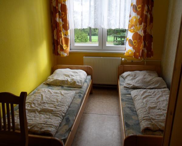 Schülerfahrt Altenberg- Zimmer in der Jugendherberge