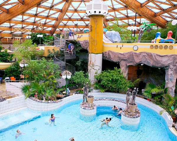 Kursreise Center Parcs Nordseeküste: Subtropisches Schwimmbad