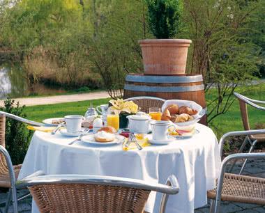 Abifahrt Steigenberger Hotel Deidesheim- Terrasse