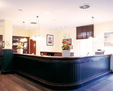 Schulfahrten Steigenberger Hotel Deidesheim: Rezeption