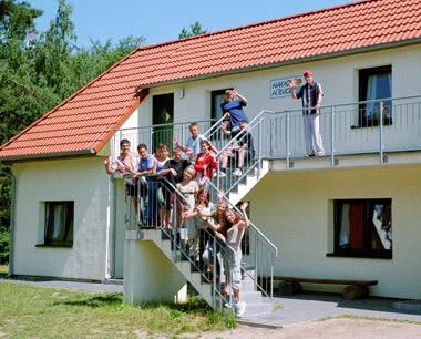 Klassenfahrt Jugenddorf Wittow- Unterkunftsbeispiel